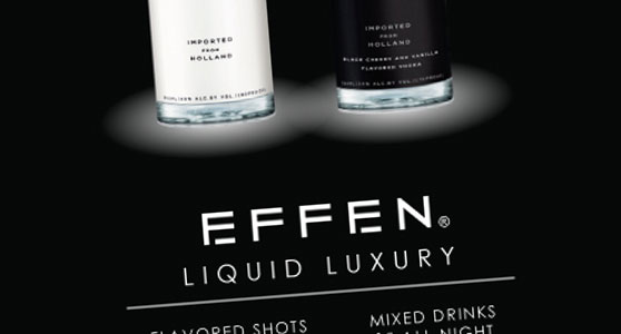 EFFEN Vodka Poster